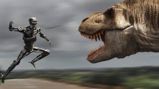 T-Rex vs Terminator
