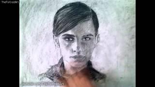 Drawing    Emma Watson (Art Video)