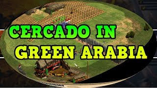Age of Empires 2 HD Cercado In Green Arabia AoE2HD Gameplay PT BR