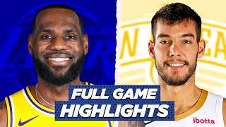LAKERS at PELICANS FULL GAME HIGHLIGHTS | 2021 NBA Season