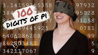 How to memorize Pi » 100 digits fast and easy | Math Hacks