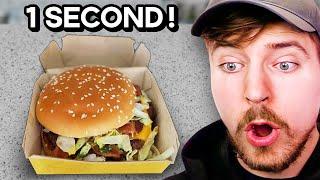 World's Fastest Big Mac Ever Eaten