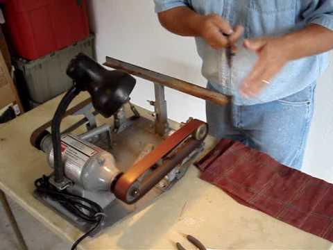 The Jackson Edge Knife Sharpening Machine Youtube