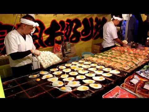 その場でファンが出来るお好み焼き屋さん 2017年 職人芸 Street Food Japan Okonomiyaki