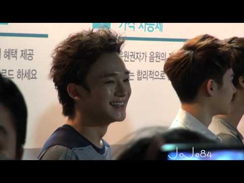 120810 SM ART EXHIBITION EXO-M HAPPY CHEN + TWO MOON CHEN'S DANCE