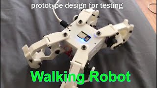 4 Legged Walking Robot
