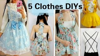 c1faa460c 5 DIY Clothes Transformations | How to Transform/Upcycle your old clothes