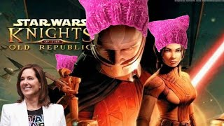 Get Ready For Kathleen Kennedy's Knights of the Old Republic : Feminist Edition!