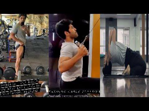 Allu Sirish latest workout video goes viral