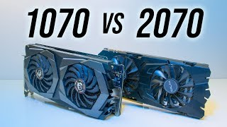 Nvidia GTX 1070 vs RTX 2070 - Benchmarks & Comparisons