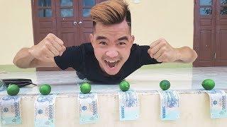 PHD   Thử Thách Ăn Chanh   Lemon Fruit