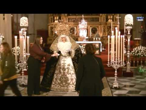 Besamanos extraordinario Virgen de Guadalupe