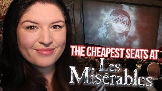 The CHEAPEST Seats at LES MISERABLES London 🇫🇷 REVIEW (Rukaya Cesar)