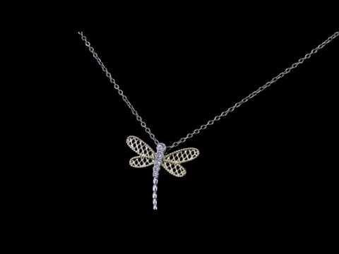 Browns Family Jewellers Dragonfly Pendant