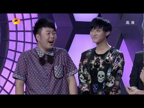 [ENG] EXO-M Kungfu Panda TAO @ Happy Camp - Cuts