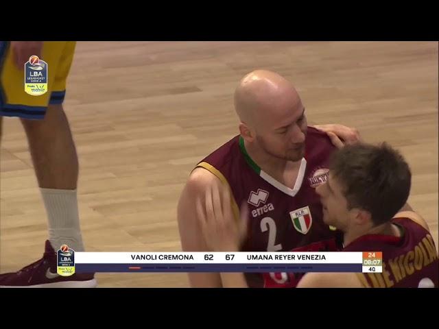 Vanoli Cremona-Umana Venezia
