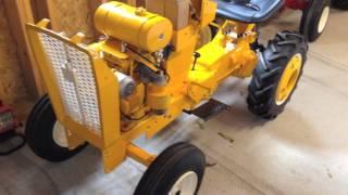 12 - Cub Cadet Tractor Restoration - Engine first start