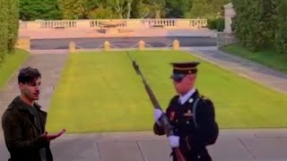 Why You Never Mess With A Guard Of The Tomb Of The Unknown Soldier