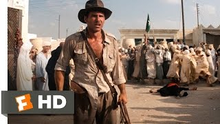 Raiders of the Lost Ark (3/10) Movie CLIP - Sword vs. Gun (1981) HD