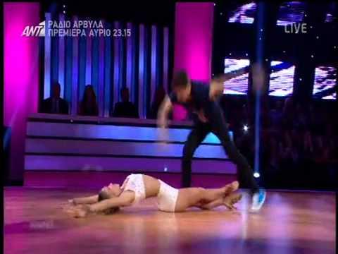 Χρήστος Σπανός Μαρία Αντιμισάρη Η εμφάνιση στο τέταρτο live του Dancing With The Stars 5