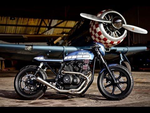 Yamaha Yard Built: Marcus Walz' killer XV950 cafe racer
