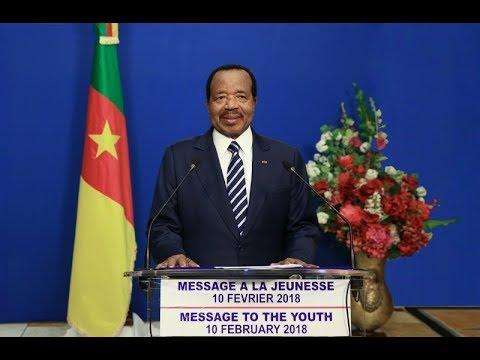 Message du Président Paul Biya à l'occasion de la 52eme édition de la Fête de la Jeunesse