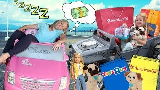 Maya Goes to the Crazy Car Store and Pretend Toys R Us