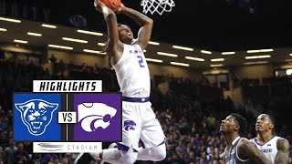 Georgia State vs. No. 25 Kansas State Basketball Highlights (2018-19) | Stadium