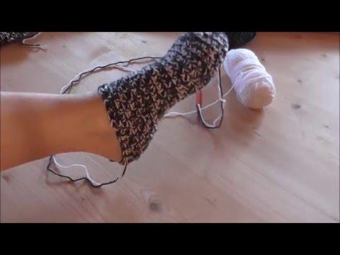 Wirbel Socken Ohne Ferse Häkeln Lernen Videomovilescom