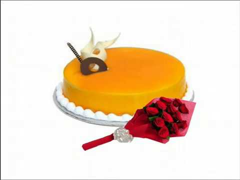 Buy 100% Eggless Cake from CakenGifts.in