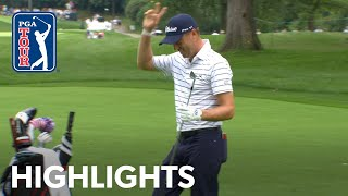 Justin Thomas' highlights from course record 61 | BMW Championship 2019