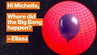The Big Bang wasn't an explosion. Visualize it like this. | Michelle Thaller