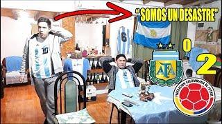 ARGENTINA 0 COLOMBIA 2 | REACCIONES DE HINCHAS ARGENTINOS | COPA AMÉRICA 2019