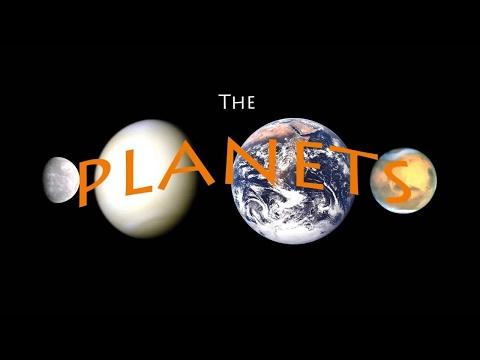 Planet Song- teach the order of the planets! Phim Video Clip