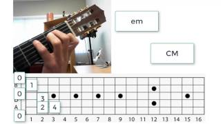 Chord Changes Hacked - Shockingly Easy Switch Between CM and em on Guitar