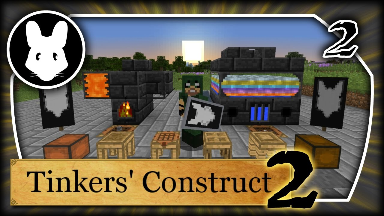 Tinkers' Construct 2: Getting Started Part 2 Minecraft 1 10+ Bit-by-Bit  Smeltery!