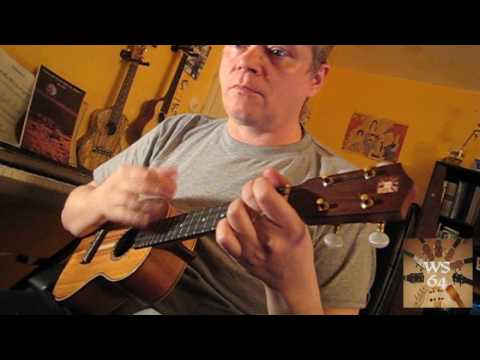 Sidewalk Cafe (Blonker) - Ukulele solo