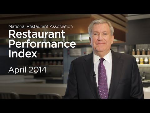 The National Restaurant Association's Hudson Riehle provides an update on the March Restaurant Performance Index and other economic indicators. Visit http://www.restaurant.org/research for all the latest restaurant industry news and insights.