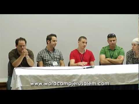 WordCamp Jerusalem 2011 - WordPress experts answer your questions