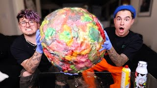 We Made The Worlds Largest Chewed Gum-Ball