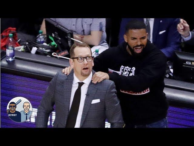 NBA/不滿Drake能在主場逛大街 公鹿教頭這麼說