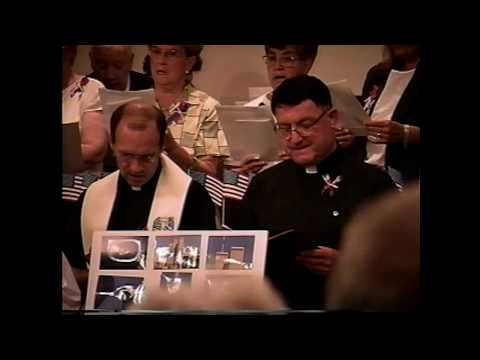 Ecumenical Service for Sept. 11 Victims 9-23-01