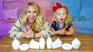3 Marker Make Your Own Squishy Toy Challenge!!!