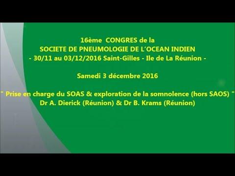 Prise en charge du SOAS & Exploration de la somnolence hors SAOS. Dr A. Dierick & Dr B Krams