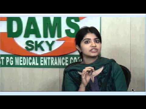 DAMS Student Dr . Saneya Rank 9 AIPG - 2013-14