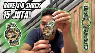 JAM TANGAN BAPE x G-SHOCK 15 JUTA! | #HYPEMANIA
