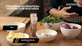 MIX PALESTRAS   Luriana Toledo   Fraldinha na Manteiga de Ervas e Mostarda