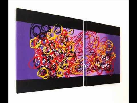 Pittura astratta sanader art quadri ad olio moderni for Dipingere quadri moderni