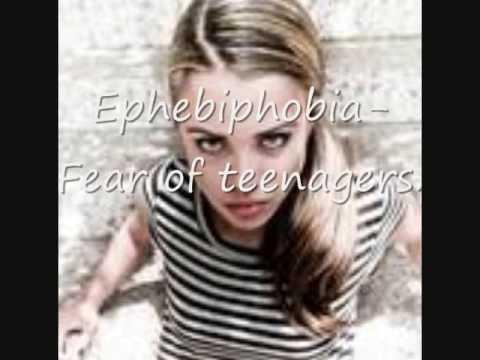 phobia list
