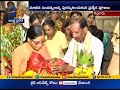 Venkaiah Naidu's wife speaks after visiting Talpagiri Ranganadha Swami Temple in Nellore